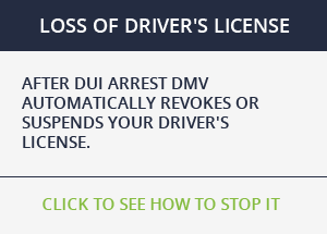 DUI LICENSE SUSPENSION