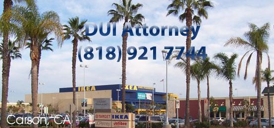 Carson DUI Attorney