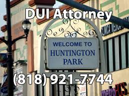 Huntington Park DUI Attorney
