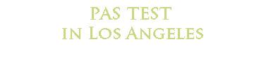 PAS test