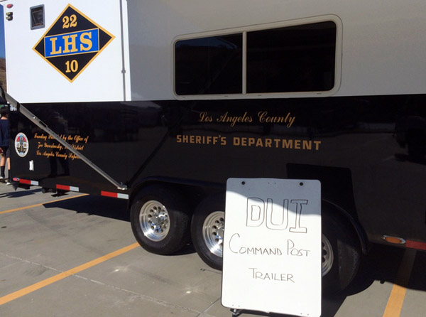 dui command post trailer